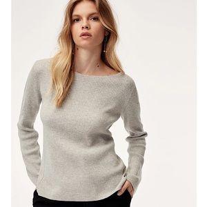 Babaton (Aritzia) 'Kitano' Ribbed Wool Sweater